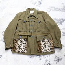 画像1: 【Wiz&Witch】FUR POCKET VINTAGE MILITARY WOOL JACKET / OS (1)