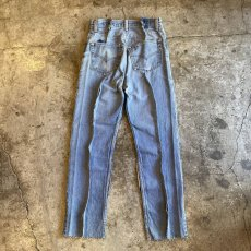 "画像2: 【Wiz&Witch】""DIRTY BEAUTIFUL"" DENIM PATCHWORK PANTS / W29 (2)"