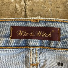 "画像9: 【Wiz&Witch】""DIRTY BEAUTIFUL"" DENIM PATCHWORK PANTS / W29 (9)"