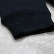 "画像5: 【DISRAW】""diffusion"" SWEAT SHIRT / BLACK (5)"