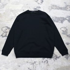 "画像2: 【DISRAW】""diffusion"" SWEAT SHIRT / BLACK (2)"