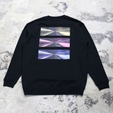 "画像1: 【DISRAW】""diffusion"" SWEAT SHIRT / BLACK (1)"