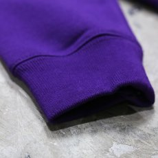 "画像5: 【DISRAW】""diffusion"" SWEAT SHIRT / PURPLE (5)"