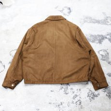 画像2: FAUX SUEDE SPORT JACKET / Mens L (2)