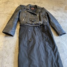 "画像4: 【Wiz&Witch】""UNITED"" RIDERS TRENCH COAT / OS (4)"
