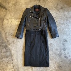 "画像1: 【Wiz&Witch】""UNITED"" RIDERS TRENCH COAT / OS (1)"