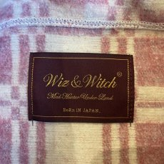 "画像9: 【Wiz&Witch】""UNITED"" VINTAGE FABRIC MIX WRAP SKIRT / FREE (9)"