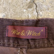 画像9: 【Wiz&Witch】FLARE CUT CORDUROY PANTS / W28 (9)
