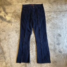 画像1: 【Wiz&Witch】FLARE CUT CORDUROY PANTS / W29 (1)