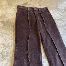 画像3: 【Wiz&Witch】FLARE CUT CORDUROY PANTS / W28 (3)