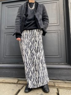 "画像11: 【Wiz&Witch】""1950"" ZEBRA FUR LONG SKIRT / FREE (11)"
