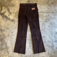 画像2: 【Wiz&Witch】FLARE CUT CORDUROY PANTS / W28 (2)