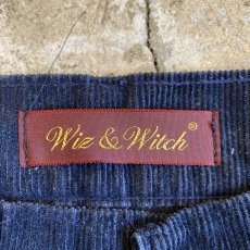 画像9: 【Wiz&Witch】FLARE CUT CORDUROY PANTS / W29 (9)