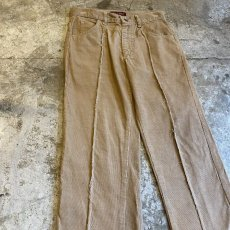 画像4: 【Wiz&Witch】FLARE CUT CORDUROY PANTS / W28 (4)