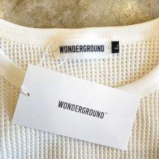 画像8: 【WONDERGROUND】L/S WAFFLE T-SHIRT / WHITE (8)