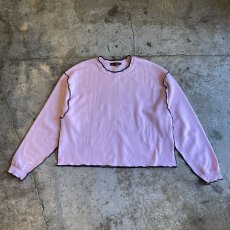 "画像1: 【Wiz&Witch】""OUT STITCH"" WIDE SWEAT / OS (1)"