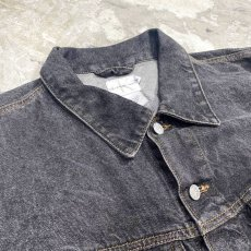 画像3: 90's【CALVIN KLEIN】BLACK DENIM VEST / Mens XL / MADE IN USA (3)