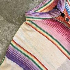 画像8: COLOR MEXICAN HENRY NECK TOPS / Ladies M(S) (8)