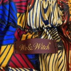 画像8: 【Wiz&Witch】AFRICAN BATIK MULTI LONG SKIRT / FREE  (8)