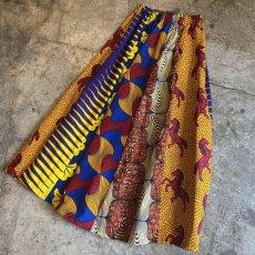 画像3: 【Wiz&Witch】AFRICAN BATIK MULTI LONG SKIRT / FREE  (3)