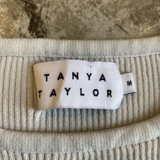 画像8: 【TANYA TAYLOR】BORDER COLOR RIB N/S TOPS / Ladies M (8)