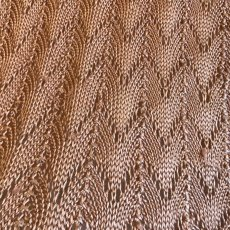 画像8: ALL OVER WAVE PATTERN COLOR CROCHET SHORT SLEEVE TOPS / Ladies M (8)