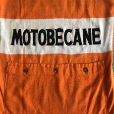 画像9: OLD 2 TONE COLOR DESIGN FLOCKY LOGO MOTOCROSS S/S TOPS / Ladies M / MADE IN FRANCE (9)