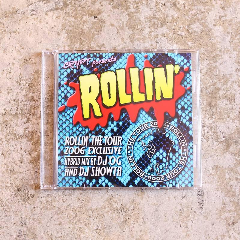 画像1: 【DJ OG× DJ SHOWTA】ROLLIN' The TOUR 2006 MIX CD (1)
