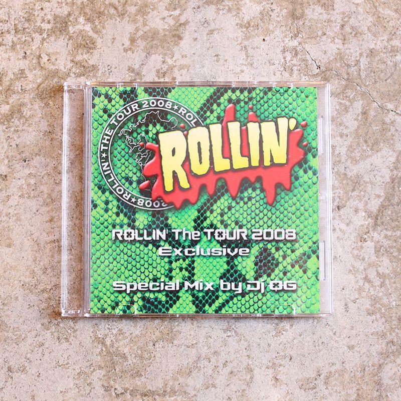 画像1: 【DJ OG】ROLLIN' The TOUR 2008 MIX CD (1)