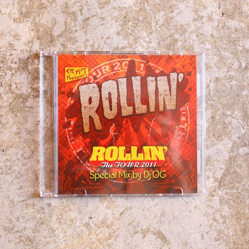 画像1: 【DJ OG】ROLLIN' The TOUR 2011 MIX CD (1)