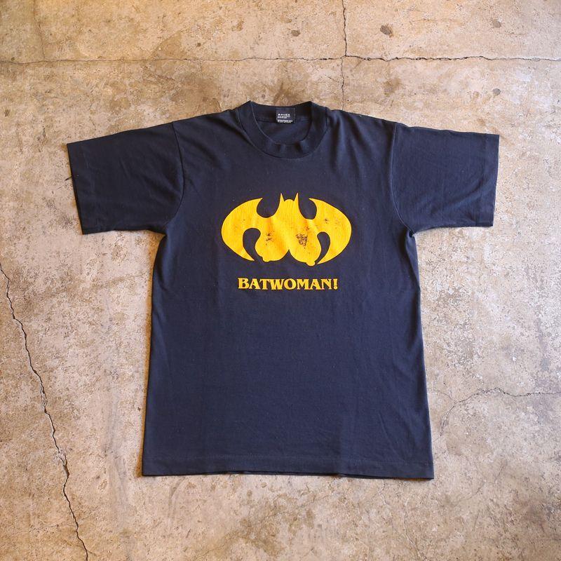 """画像1: 1980's VINTAGE """"BATWOMAN!"""" TEE (1)"""