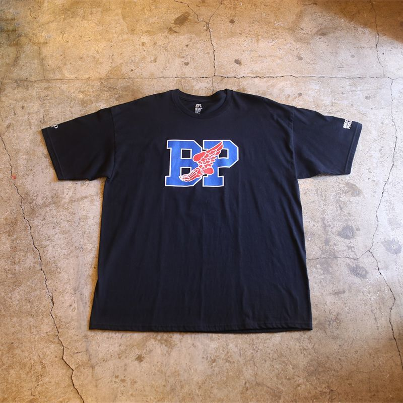 画像1: 【BROOKLYN PROJECTS】ACHILLES BLACK TEE / MADE IN USA (1)