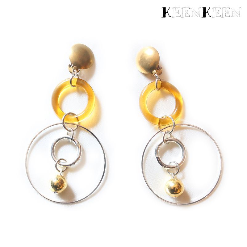 "画像1: 【KEENKEEN】- ""MOOD"" EARRING / 18 (1)"