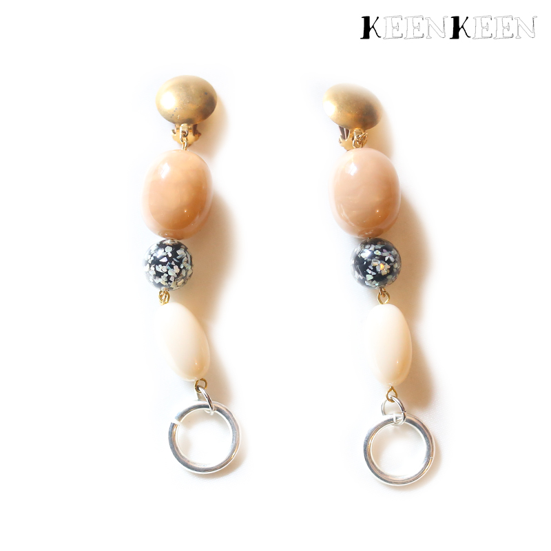 "画像1: 【KEENKEEN】- ""MOOD"" EARRING / 13 (1)"