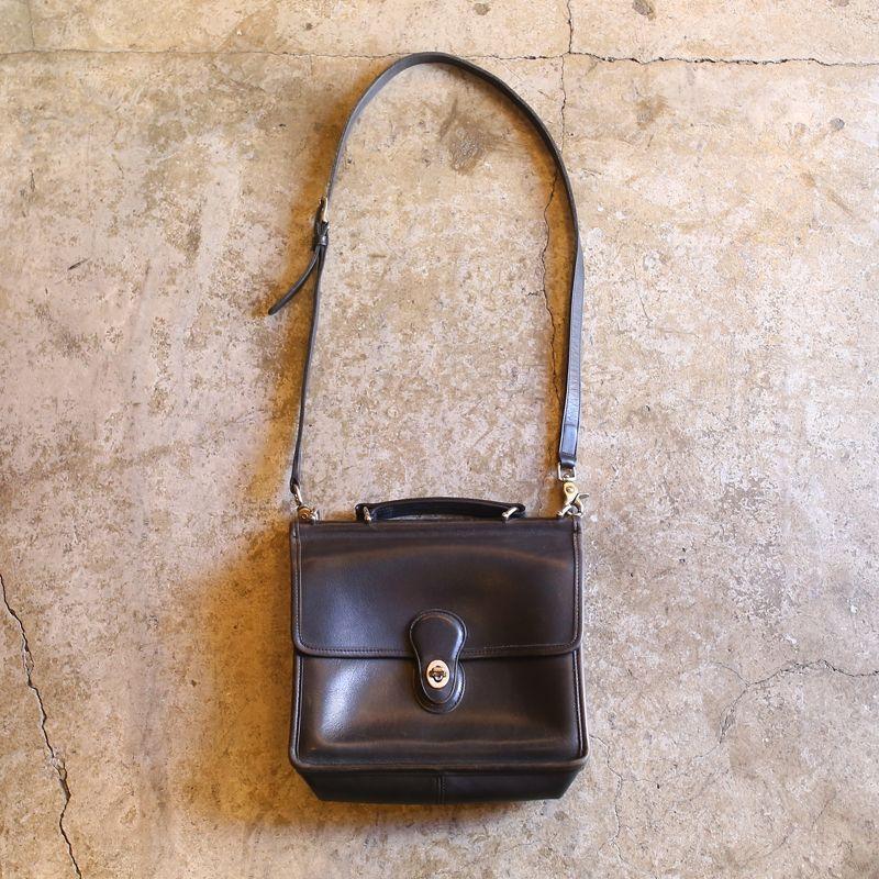 画像1: 【COACH】OLD LEATHER BAG (1)