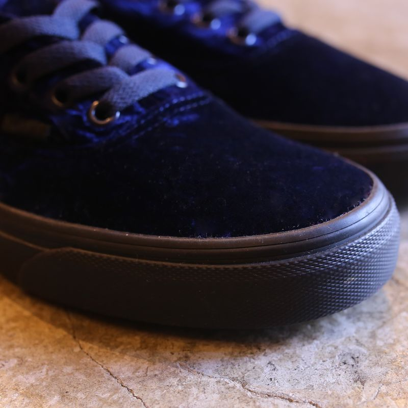 c2843850103 海外限定 VANS VELVET AUTHENTIC   DEEP PURPLE UNDERLAND ONLINE ...