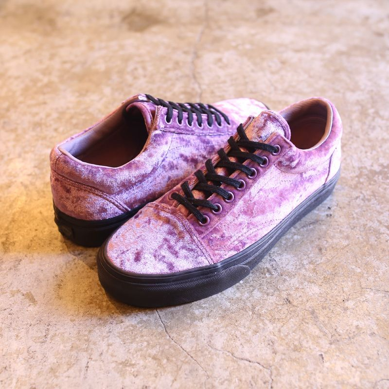 画像1: 【VANS】VELVET OLD SKOOL / SEA FOG (1)