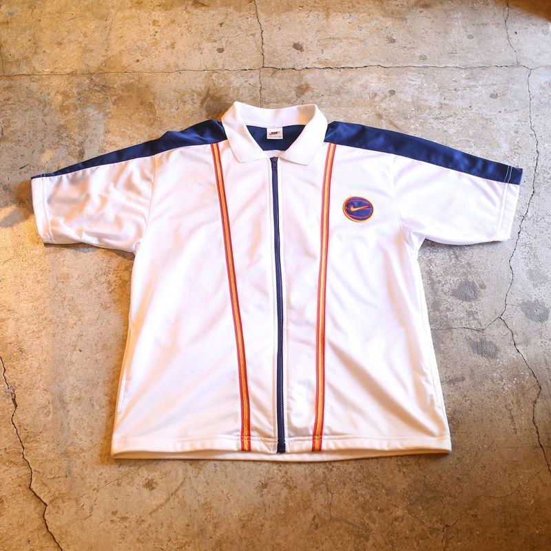 画像1: 1990's【NIKE】VINTAGE ZIP UP SHIRT (1)