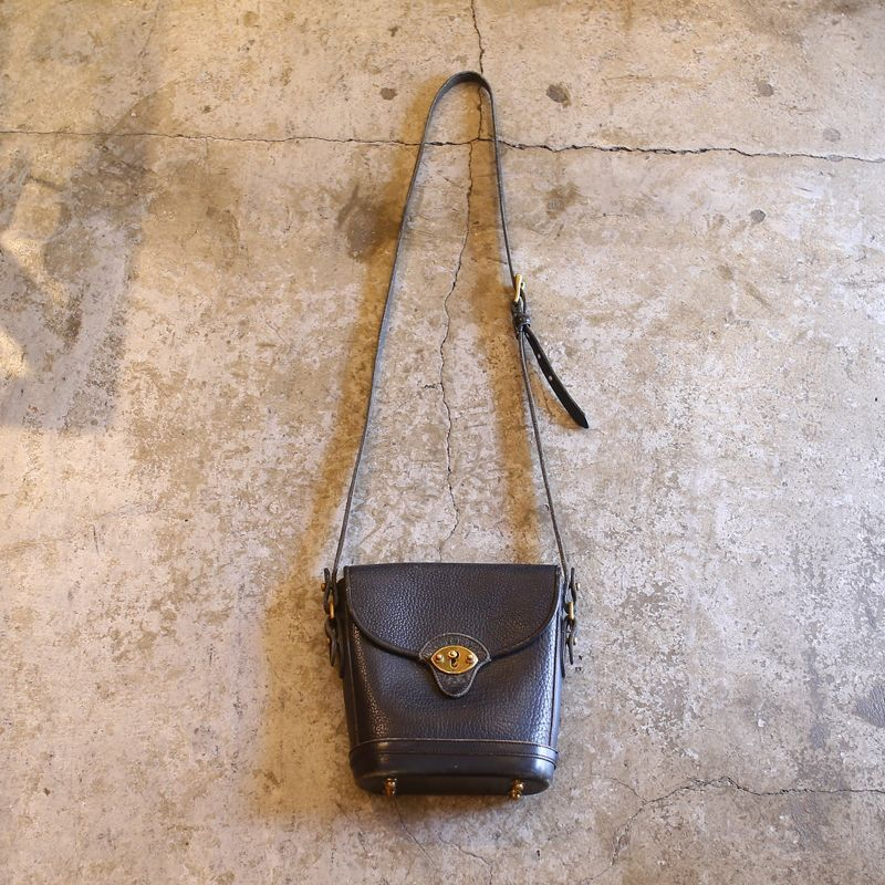 画像1: VINTAGE DESIGN LEAHTER BAG / MADE IN USA (1)
