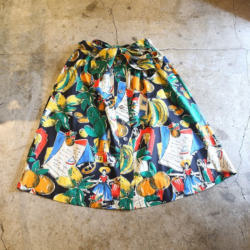画像1: ARTISTIC DESIGN SKIRT (1)