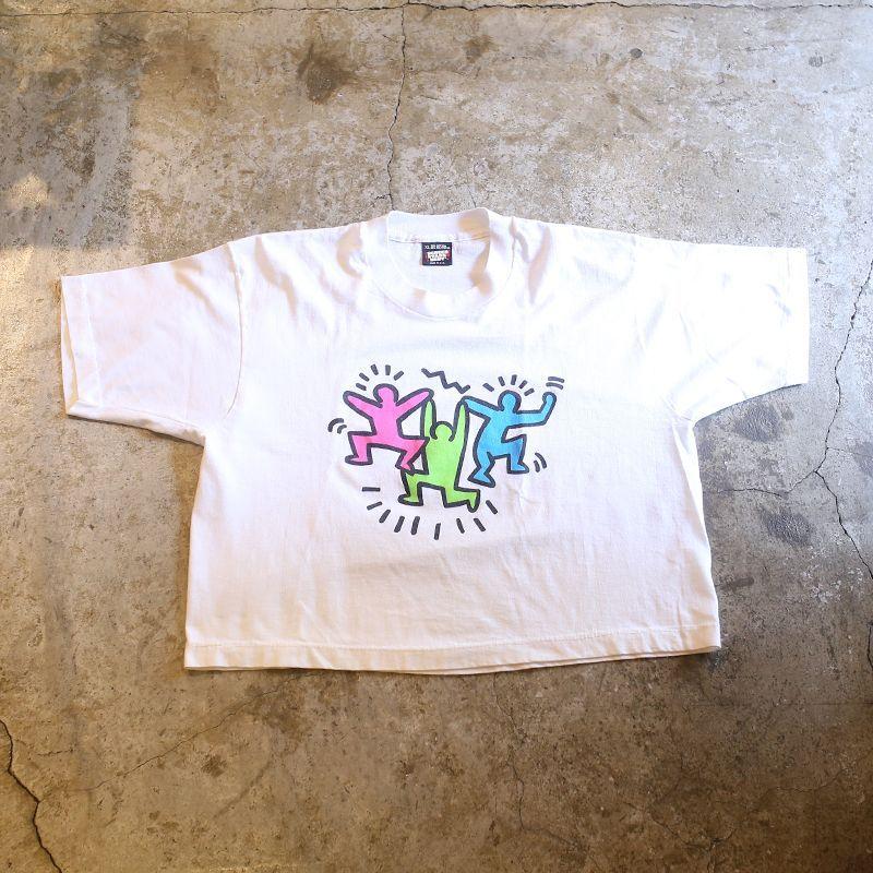 """画像1: 1980's VINTAGE """"Keith Haring"""" ART TEE / MADE IN USA (1)"""