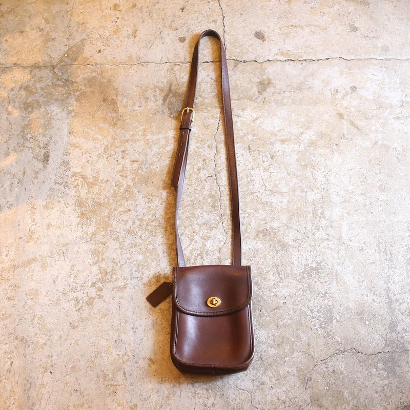 画像1: 【COACH】LEAHTER SHOULDER BAG (1)