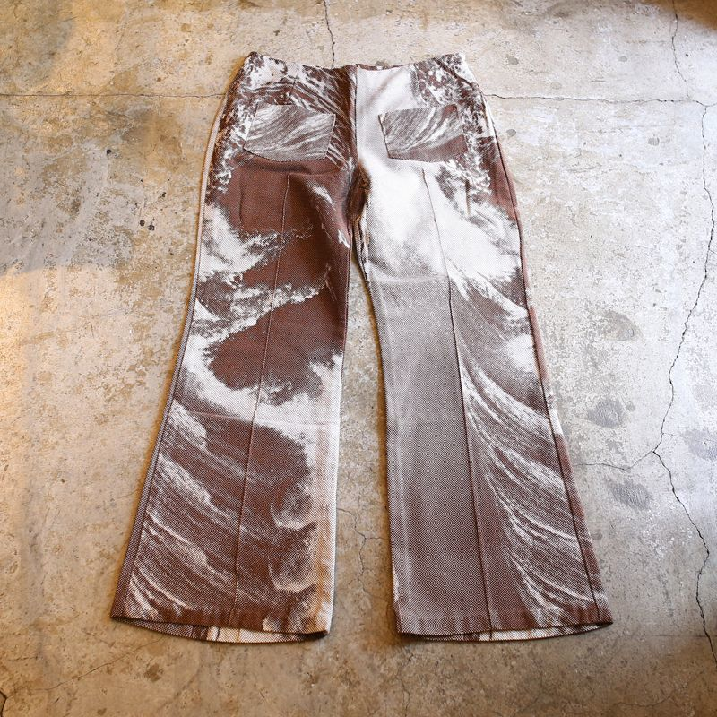 画像1: 1970's VINTAGE ALL OVER PATTERN PANTS (1)