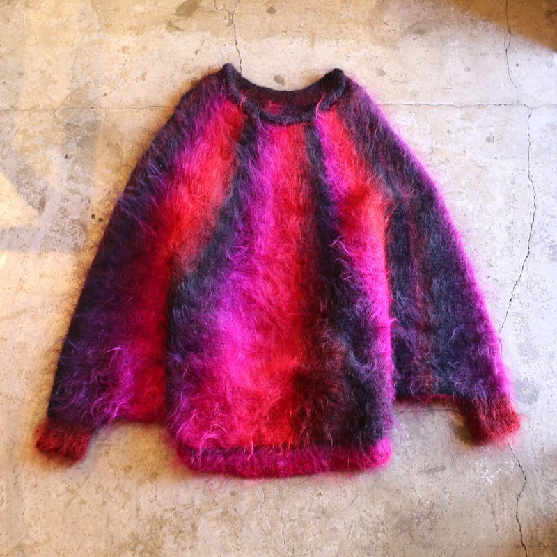 画像1: GRADATION DESIGN DOLMAN SLEEVE KNIT (1)
