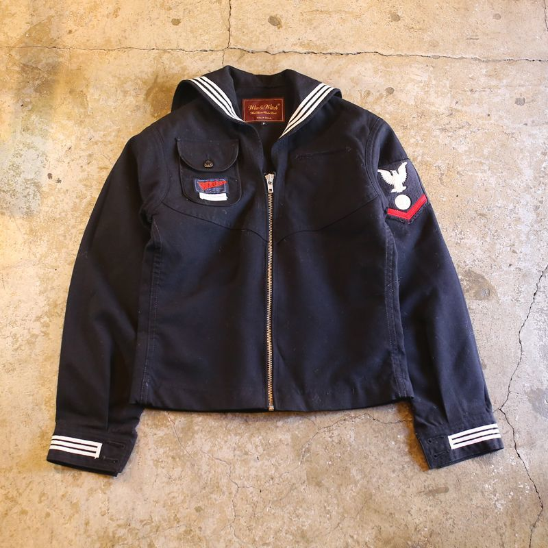 "画像1: 【Wiz&Witch】""MARINE ZIP JACKET"" (1)"