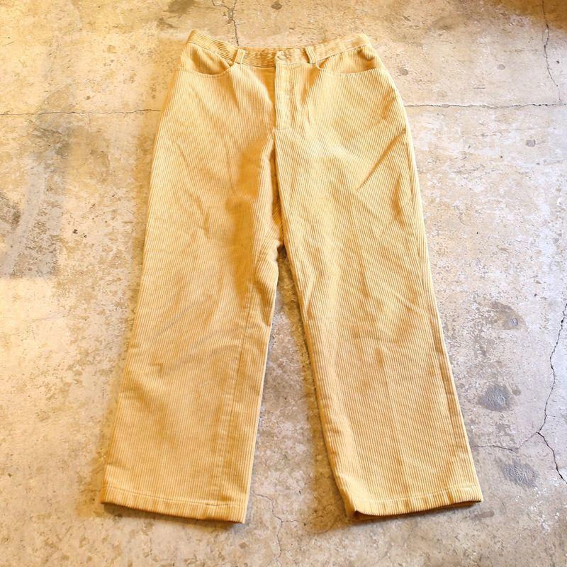 画像1: CORDUROY DESIGN PANTS / W28 (1)