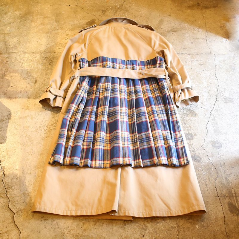 "画像1: 【Wiz&Witch】""UNITED"" BACK PLEATED TRENCH COAT (1)"