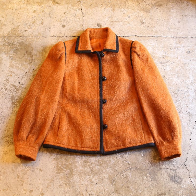 画像1: DESIGN MOHAIR JACKET / MADE IN FRANCE (1)