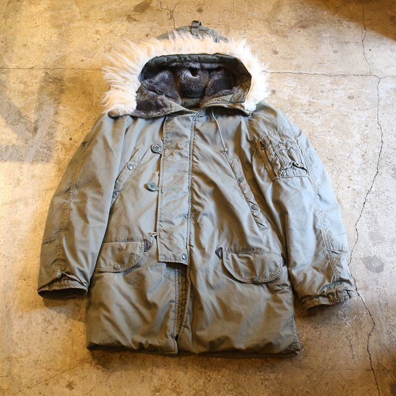 画像1: 1970's VINTAGE N-3B FLIGHT JACKET (1)