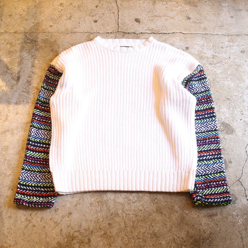 "画像1: 【Wiz&Witch】""UNITED"" MEXI SLEEVE KNIT (1)"